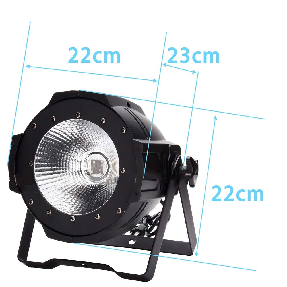 YICIX LED Stage Light/Spot Light/LED Par Lights Auto 120 W for Party/Stage/Wedding Professional