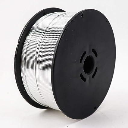 Alambre de soldadura de aluminio MIG de aleaci/ón de 0,5 kg de di/ámetro 0,8//1,0//1,2 mm para soldadura TIG MIG de aluminio AWS A5.10 ER4043