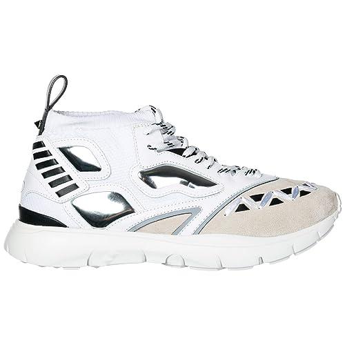 Valentino Zapatillas Deportivas Hombre Bianco 43 EU: Amazon.es: Zapatos y complementos