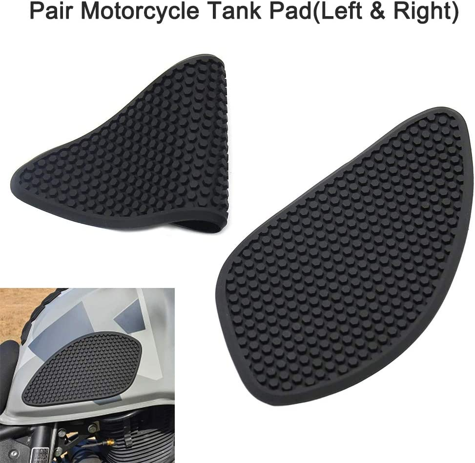 3D Motorcycle Tank Sticker Protector Decal Gas Oil Fuel Tank Pad Protector Left /& Right Black for Suzuki V-Strom DL650 DL650XT DL1000 Gecheer Gas Tank Protector Motorcycle Tank Pad
