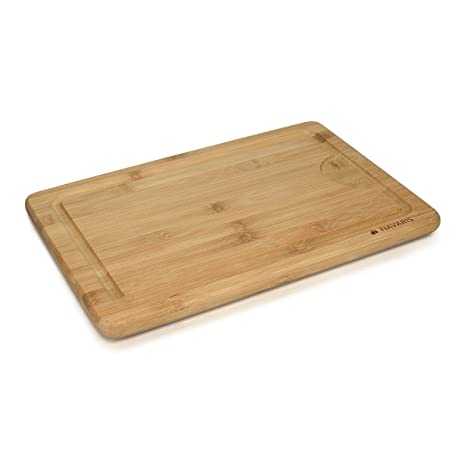Navaris Tagliere in Legno di bambù XL - Tagliere da Cucina Grande ...