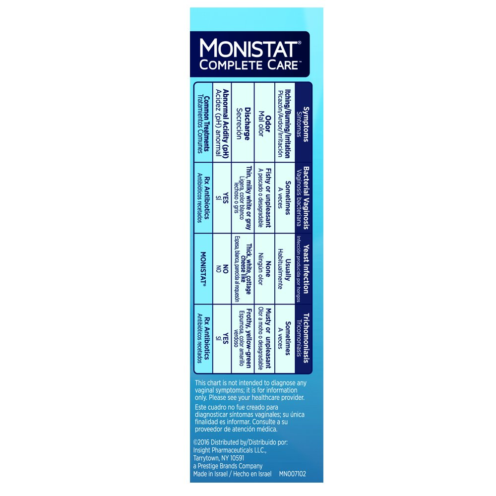Monistat Care Vaginal Health Test, 2 Test Swabs Included Per