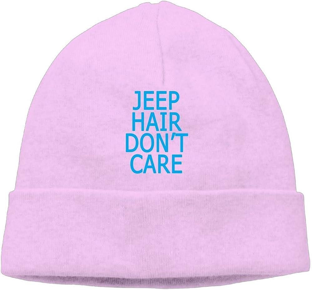 Beanie Hat Knit Caps Men Cotton Jeep Hair Don't Care Winter