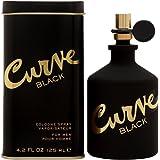 Curve Black for Men, Men's Cologne Spray 4.2oz