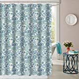 Sweet Home Collection Shwrcrtn-Mdrnpsly-7072 Shower Curtain, 70'' x 72'', Modern Paisley