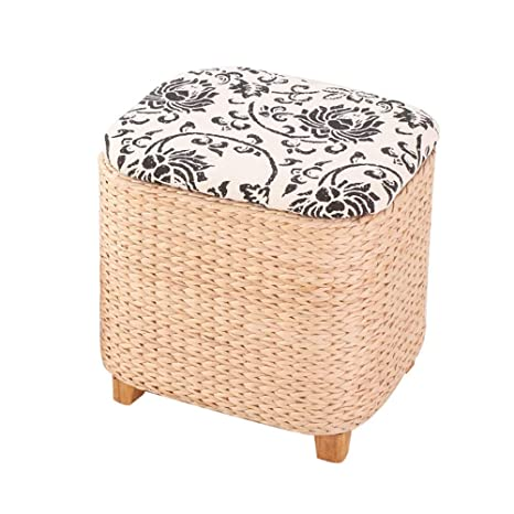 Prime Amazon Com Chairs Meiduo Multifunction Storage Stool Straw Gamerscity Chair Design For Home Gamerscityorg