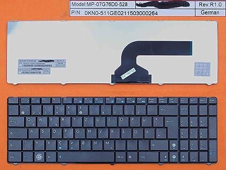 Teclado Compatible con ASUS F75VD, F75, F75A alemán, Color ...