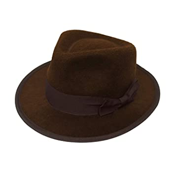d6591143045c5 CHILDRENS 1920 S GANGSTER   SAFARI EXPLORER HAT TRILBY FEDORA PERFECT FOR A  CHILDRENS FANCY DRESS PARTY