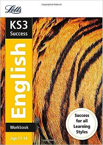 KS3 English Workbook (Letts KS3 Revision Success)