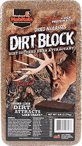 - Evolved Habitats Dirt Block Deer Attractant