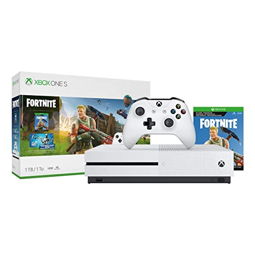 Carte Cadeau Xbox One Gratuit 2019.Xbox One S Fortnite Bundle 1tb Xbox One S Edition Xbox