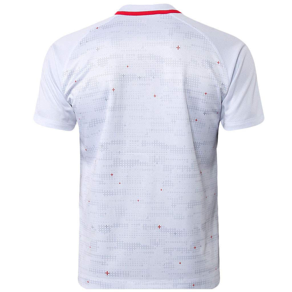 Wangxyan England Home Away Rugby T Shirt Mens Fan Shirts Supporters Uniform Casual Breathable Jersey Training Short Sleeve Classic Printing Sportswear