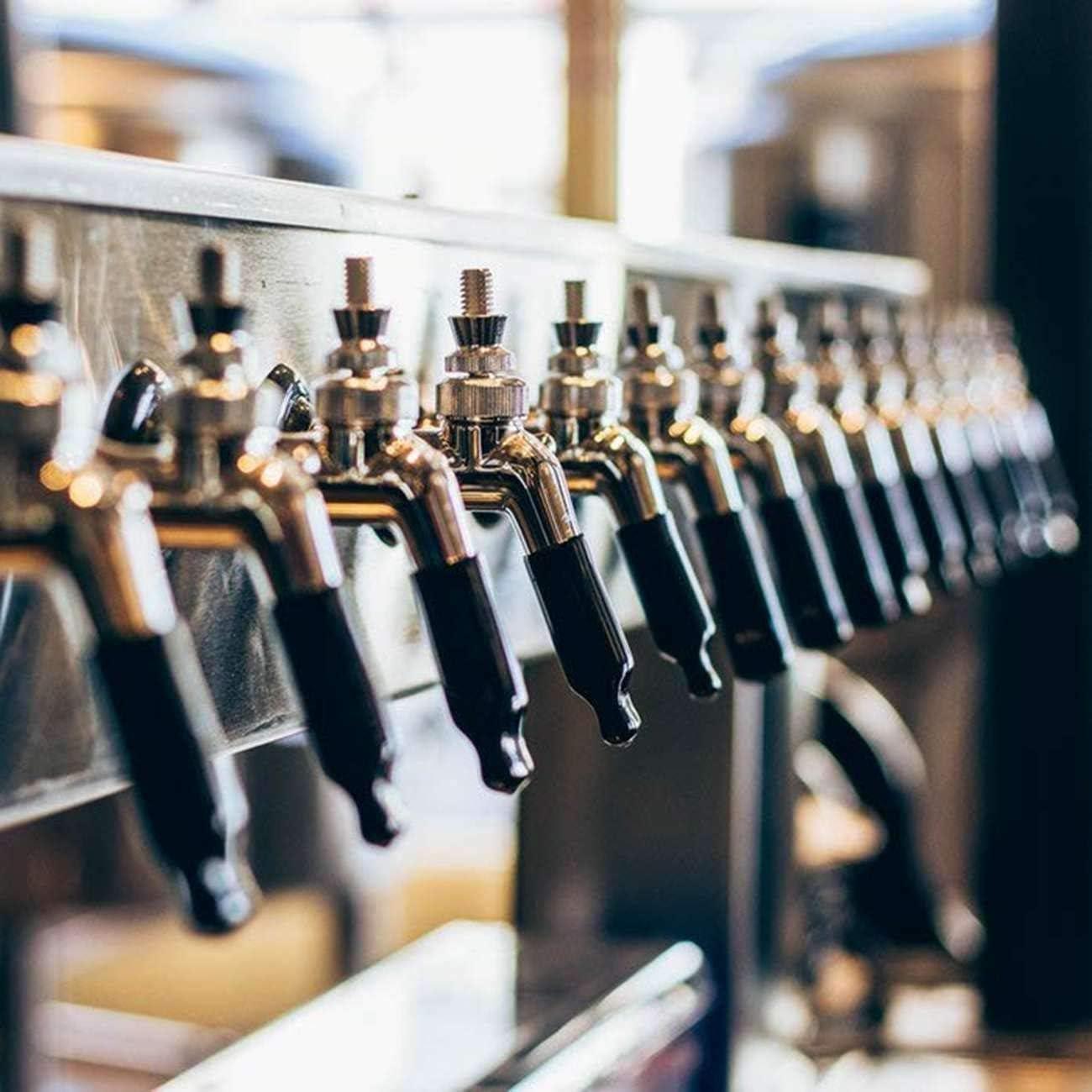 REFURBISHHOUSE 12 Pcs Draft Beer Faucet Plug Cap Sanitary Faucet Keg Cap Rubber Tap Cover