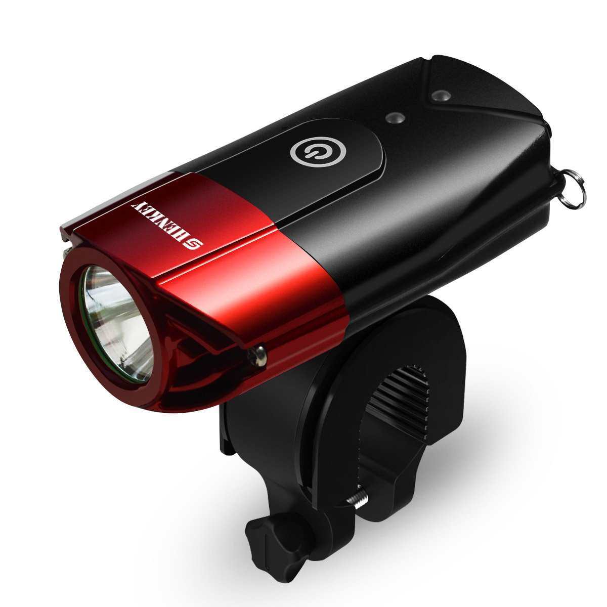 09c955f4d72 Details about shenkey Bike Lights USB Rechargeable LED Bicycle Headlight  (2000mAh 1000 Lume.