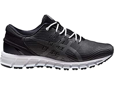 purchase cheap ef6ef 58eb9 ASICS Men s Gel-Quantum 360 4 Running Shoes, 7M, Black Dark Grey