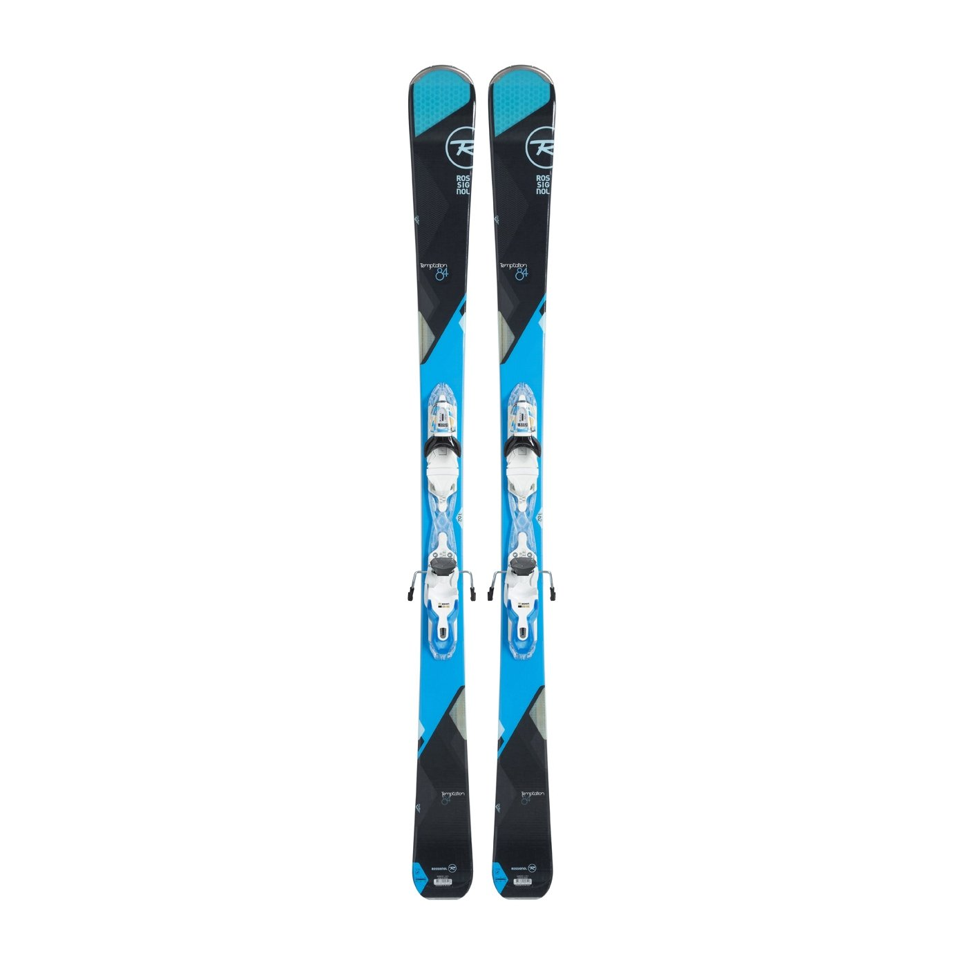 Rossignol Temptation 84 Womens Skis with Xpress 11 Bindings 2017 - 162cm