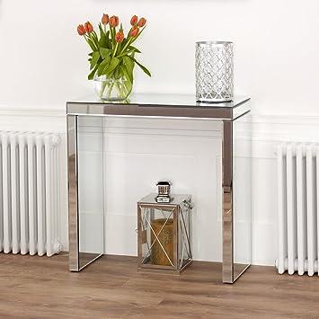 The Furniture Market Venezianischer Spiegel Kompakte Konsole Tisch