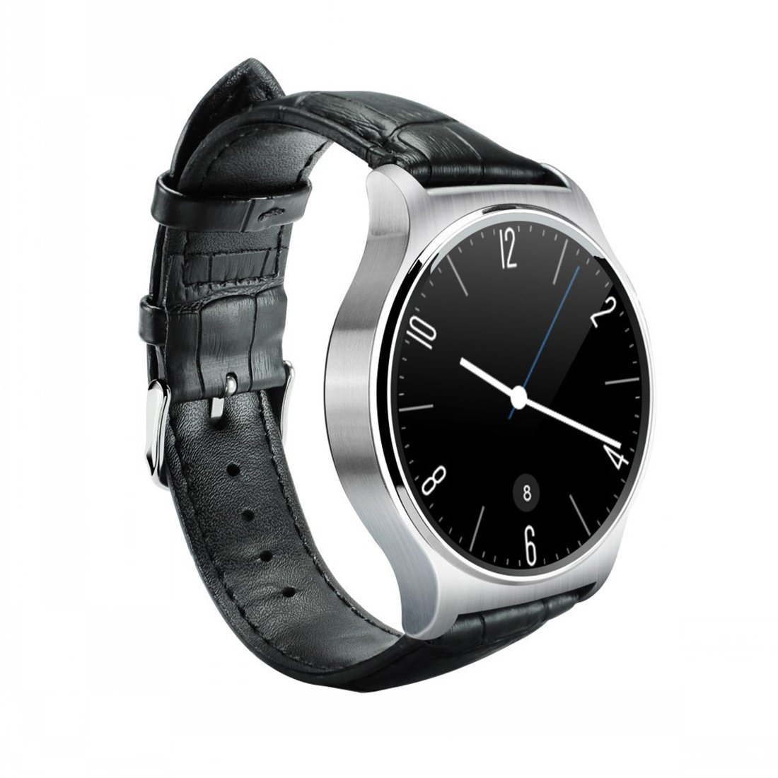 Amazon.com: PINCHU GW02 Bluetooth Smart Watch IPS Round ...