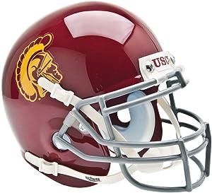 Schutt NCAA USC Trojans Mini Authentic XP Football Helmet