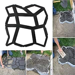 Calzada pavimentación ladrillo Patio losas de hormigón Ruta Jardín Pathmate molde del fabricante