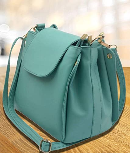Roseberries Women sling bag Green Color  Amazon.in  Shoes   Handbags 38d36bf67cb66