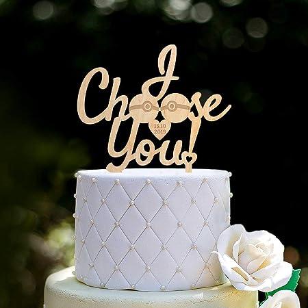 Pokeballs 0189 - Decoración para tarta de boda, diseño de ...
