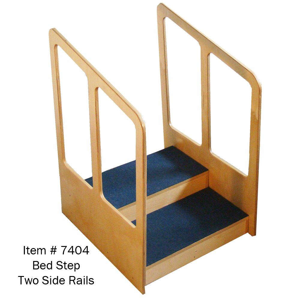 MTS Medical Supply Two Side Rails Bed Step System