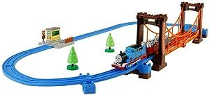 Thomas The Tank Engine: Set of Rickety Suspension Bridge Model Railroad
