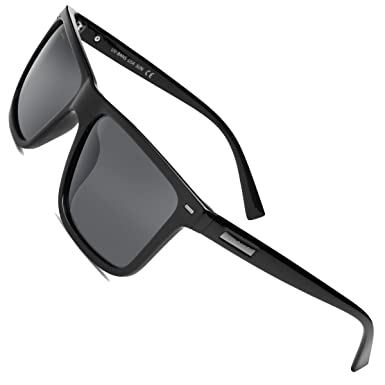 a6baaf2b49 Image Unavailable. Image not available for. Color  UV-BANS Polarized  Sunglasses for Men Women