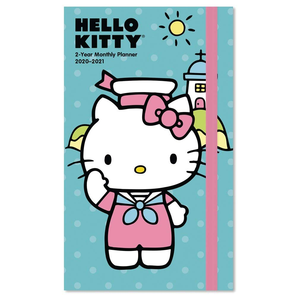 2020-2021 Hello Kitty Pocket Planner, 2 Year Planner (DDPP112820)