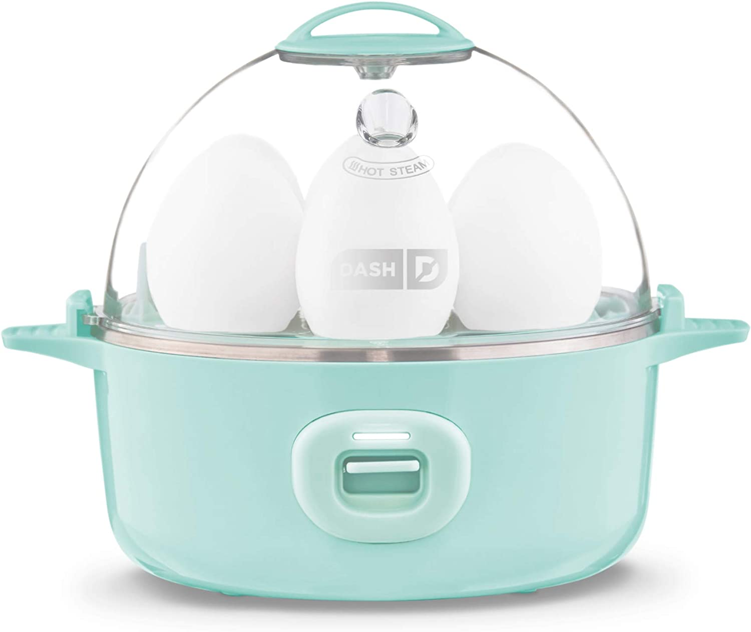 DASH Express Electric Egg Cooker, 7, Aqua