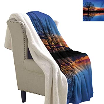 Amazon.com: Michaeal Nature Light Thermal Blanket 60x78 Inch ...