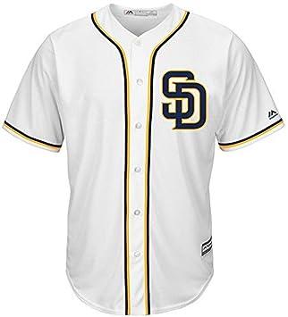 new concept cbef9 9503c Amazon.com : VF San Diego Padres MLB Mens Majestic Alternate ...