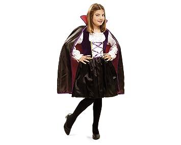 My Other Me Me - Disfraz de vampira reina, para niños de 7-9 años (Viving Costumes MOM01893)