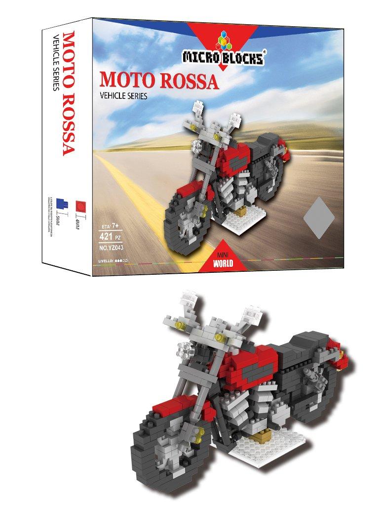 6eb61d7d02ca2c Micro Blocks wlt-yz043 – Construction Set Construction – Moto Rouge  B01IDDE452 7bafc9