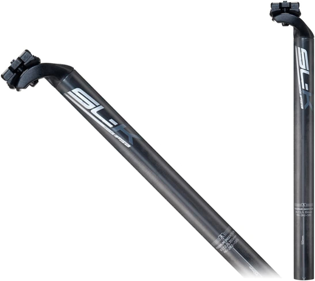 Black Decal - 25.4 x 350mm FSA SL-K Carbon SB20 Road Bicycle Seat Post