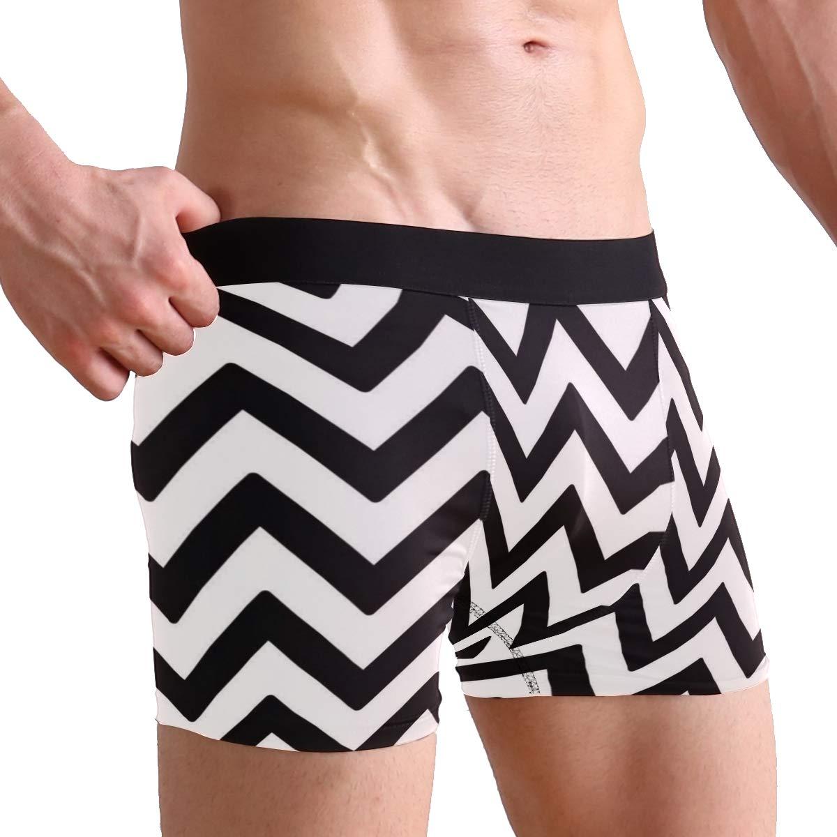Josid Mens Beach Swimming Trunks Boxer Brief Swimsuit Swim Underwear Board Shorts S