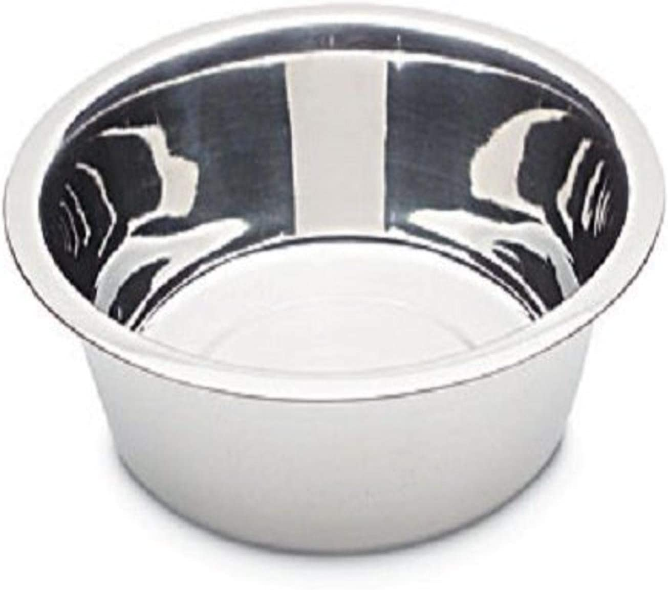 Petmate 8-Cup Stainless Steel Bowl