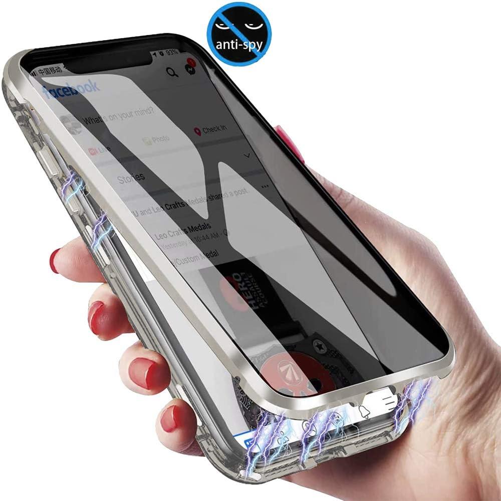 Xcyyoo Anti Spy Handyhülle Für Samsung Galaxy S10 Plus 360 Grad Schutz Hülle Privatsphäre Gehärtetes Glas