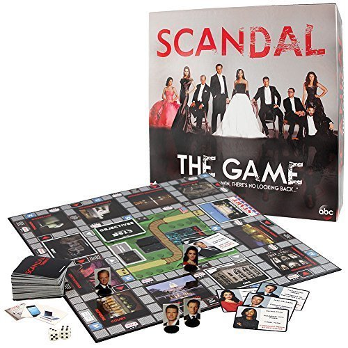 Scandal Board Game Of Intrigue Mystery Trivia- ABCs Hit Show No Looking Back by Cardinal Industries by Cardinal Industries