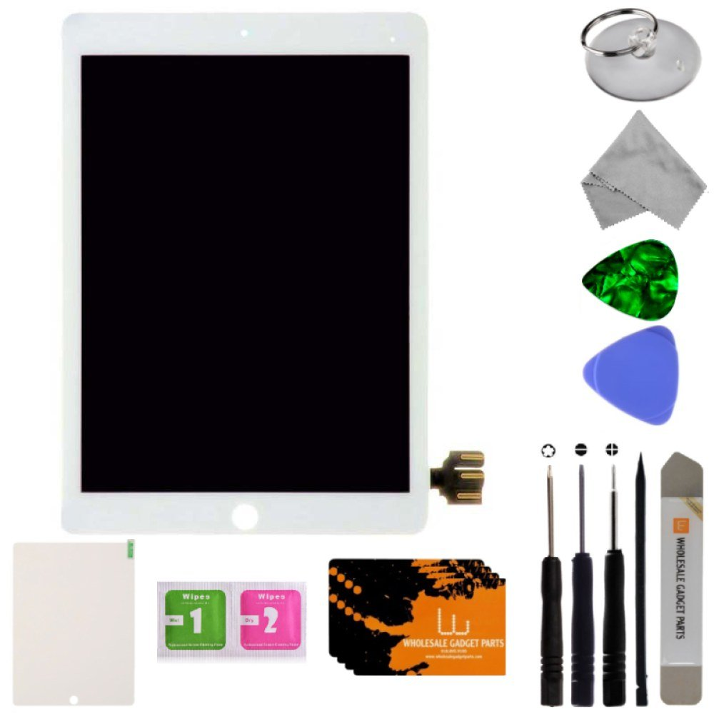 LCD & Digitizer Assembly for Apple iPad Pro 9.7'' (White) with Tool Kit by Wholesale Gadget Parts