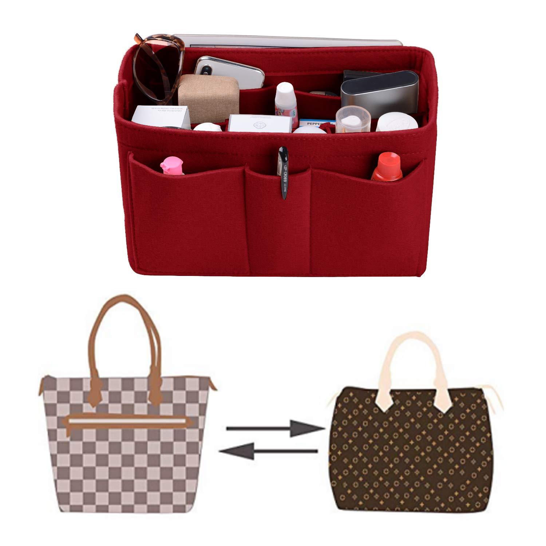 Felt(3MM) Fabric Purse Organizer Insert for Purse Handbag Tote Bag, 3 Sizes, 8 Colors by ETTP (Image #6)