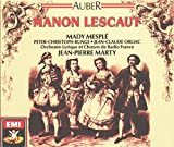 Cover of Auber: Manon Lescaut