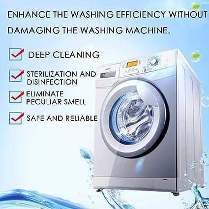 Vuffuw - Limpiador de lavadoras y depósitos de Lavadora, tabletas ...
