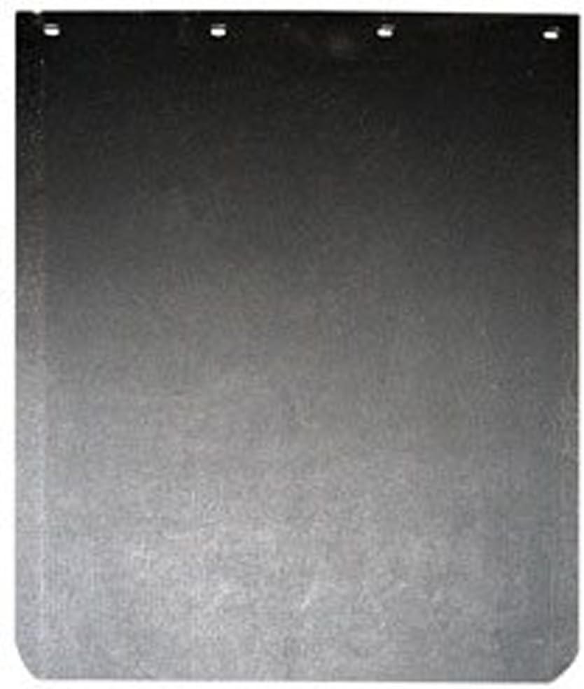 "609 x 304mm SINGLE BP83-109 *FORD CARGO PLAIN BLACK RUBBER MUDFLAP 24/"" X 12/"""