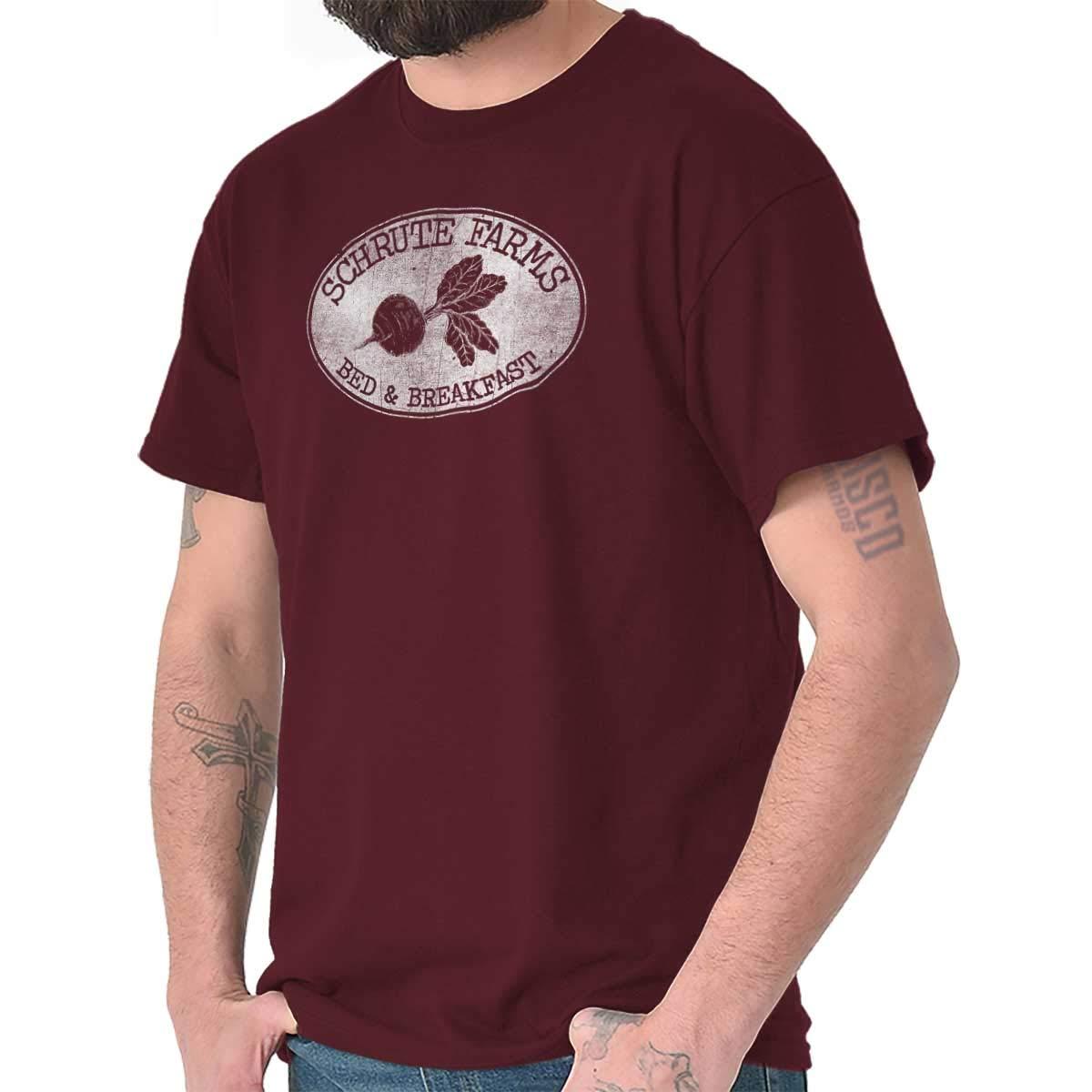 Dwight Schrute Farms Beets B&B Funny Gift Cool Cute Jim Pam T-Shirt Tee
