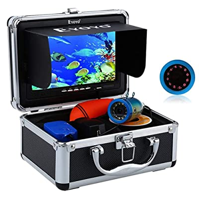 "20 m 7/"" LCD Underwater Video Camera Fish Finder w//DVR Function LEDS 1000TVL UK"
