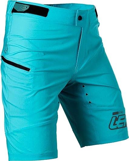 Leatt Dbx 1.0/XC adulto/ /Pantalones cortos de bicicleta azul//talla 34