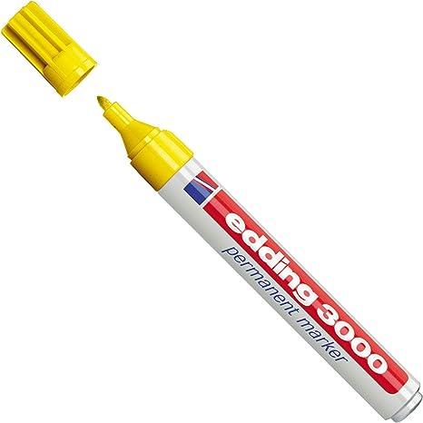 Edding-marqueur permanent edding 3000 jaune