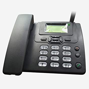 Lychee Wireless SIM Card gsm Classic Deskphone Teléfono de ...